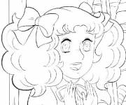 Coloring pages Candy is surprised