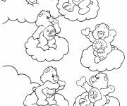 Free coloring and drawings Bears to print Coloring page