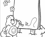 Coloring pages care bear draws
