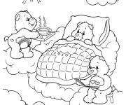 Coloring pages care bear online drawing