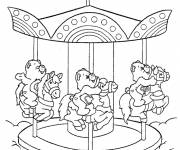 Free coloring and drawings Care Bears Coloring page