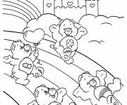 Coloring pages care bears to download