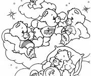 Coloring pages Cartoon teddy bear