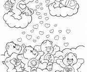 Free coloring and drawings Color teddy bear Coloring page