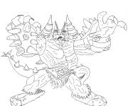 Coloring pages Chaotic Chaor