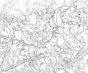 Coloring pages Chaotic to print