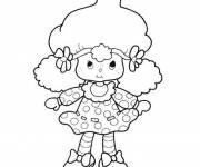 Coloring pages Strawberry Shortcake for children