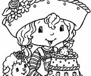 Coloring pages Strawberry Shortcake to color