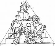 Coloring pages Cartoon chips
