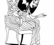 Coloring pages Cleopatra