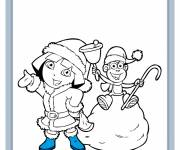 Coloring pages Dora coloring