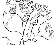 Coloring pages Dora free to print