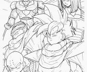 Coloring pages Dragon Ball Z online