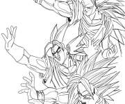Coloring pages Dragon Ball Z print free
