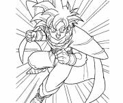 Coloring pages Dragon Ball Z super