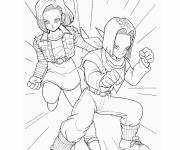 Coloring pages Dragon Ball Z super online