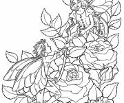 Coloring pages Elf to decorate