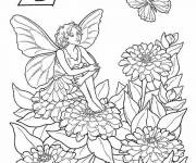 Coloring pages Elf vector