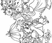 Coloring pages The Little Elves