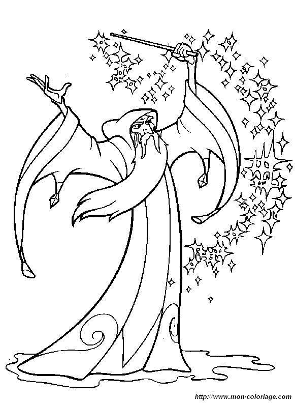 Free coloring and drawings Camelot Quest Drawing Coloring page