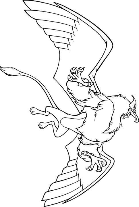 Free coloring and drawings Excalibur easy Coloring page