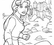 Coloring pages Excalibur Kayley