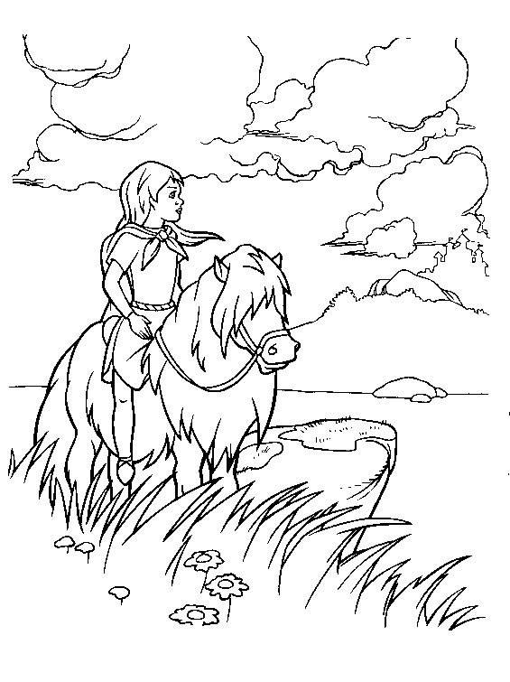 Free coloring and drawings Maternal excalibur Coloring page