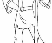 Coloring pages Rubber Excalibur Character