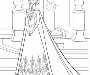 Coloring pages Elsa Frozen to download