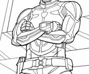 Coloring pages Free GI-Joe Special Soldier Uniform