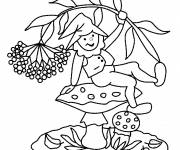 Coloring pages Gnomes easy to download