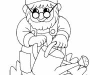 Coloring pages Gnomes sprinkles drawing