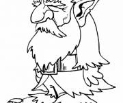 Coloring pages Old gnomes