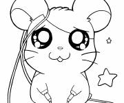 Coloring pages Hamtaro online