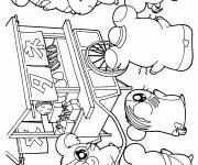 Coloring pages Hamtaro to print