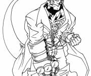 Coloring pages Hellboy drawing
