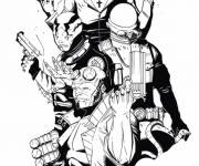 Coloring pages Hellboy online