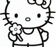 Coloring pages Hello kitty coloring