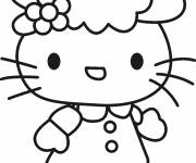 Coloring pages Hello kitty free online