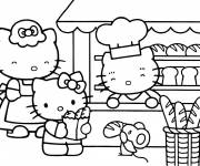 Coloring pages Hello Kitty online
