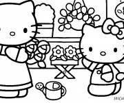 Coloring pages Hello Kitty to print for free