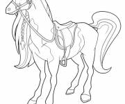 Coloring pages Horseland and Pepper