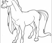 Coloring pages Horseland Apache