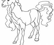 Free coloring and drawings Horseland cartoon Coloring page