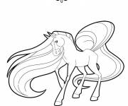 Coloring pages Horseland cartoon online