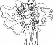 Free coloring and drawings Horseland characters Coloring page