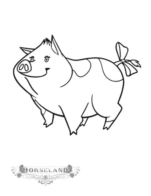 Free coloring and drawings Horseland coloring Coloring page