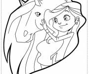 Coloring pages Horseland drawing to color