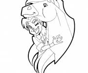 Coloring pages Horseland Fred et Tango