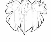 Coloring pages Horseland horses